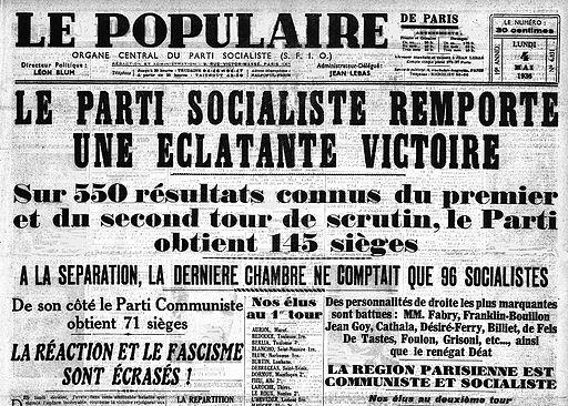 Le-Populaire-4-mai-1936