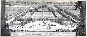 Jean Marot (architect) - Image: Le Magnifique Château de Richelieu (Marot) INHA NUM 4 RES 826 – 01 Vue générale en perspective (adjusted)