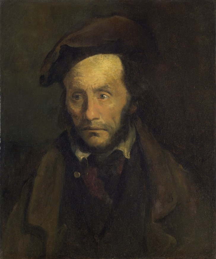 Le Monomane du vol d'enfants (Gericault, 1822-1823)