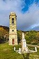 Le clocher et le monuments aux morts de Scolca.jpg