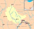 Leading Creek Ohio map.png