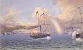 Leander Russ - Die Reise von Kaiser Ferdinand und Kaiserin Maria Anna von Triest nach Pola - 1844.jpeg