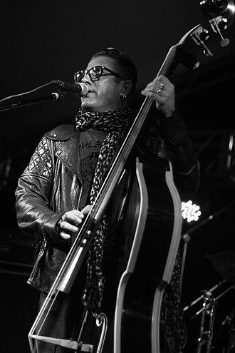 Lee Rocker - Lee Rocker performing at Memphis International Rockabilly Festival, August 2015