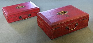 Red box (government) a type of despatch boxes