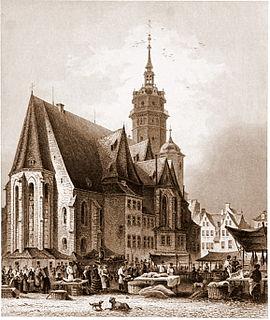 <i>Die Elenden sollen essen</i>, BWV 75 church cantata by Johann Sebastian Bach
