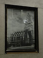 Leoben-Donawitz - Pfarrkirche hl Josef - Bild des von der Vöest gespendeten Stahlträgergerüsts für die Kirche.jpg