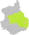 Lesvesville-la-Chenard (Eure-et-Loir) dans son Arrondissement.png
