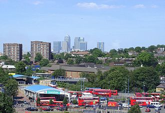London Borough of Lewisham - Lewisham Station, an important transport hub