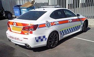 Humberside Police - Image: Lexus IS F Humberside Police