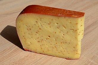 Leyden cheese - Image: Leyden cheese Av L