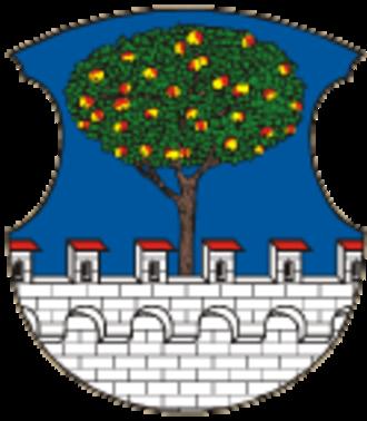 Lhenice - Image: Lhenice znak