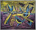Libera musiani su dis. di mattia moreni, senza titolo, 1955.jpg