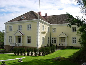 Old Castle of Lieto - The Vanhalinna manor in Lieto which serves as a Museum.