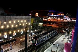 7th Street station (Charlotte) - Image: Light rail