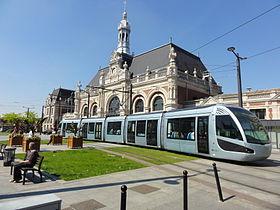 Ligne du tramway de valenciennes u wikipédia