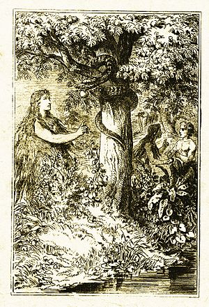 Lilith - Lilith, illustration by Carl Poellath from 1886 or earlier