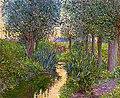 Lilla Cabot Perry - A Stream Beneath Poplars - c. 1890-1900.jpg