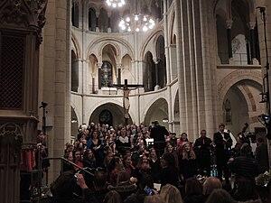 Laudato si' (oratorio) - Image: Limburger Dom Oratorium Laudato si 06112016