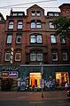 Limmerstraße 50, am 19.09.2013 verlegter Stolperstein Hier wohnte Elsa Cranz, 1917 geb. Boje Zeugin Jehovas Konzentrationslager Ravensbrück Tot 1943, Apollo Kino Desimo SpezialClub.jpg