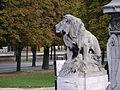 Lion statue, Pont Alexandre-III, Paris September 2010.jpg