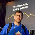 Liridon at Wikimania 2018.jpg