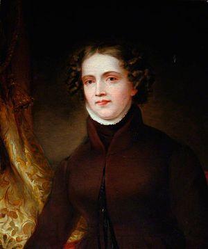 Anne Lister - Anne Lister, c. 1830. Portrait by Joshua Horner
