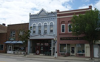 Litchfield, Minnesota - The Litchfield Commercial Historic District.