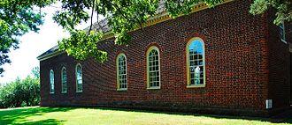 Little Fork Church - Little Fork Church: North Facade