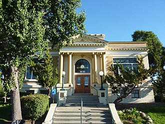 Livermore Carnegie Library and Park - 3rd Street Entrance to Carnegie Building