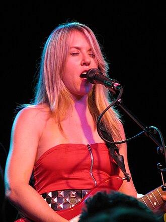 Liz Phair - Phair performing in October 2008