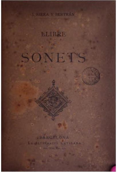 File:Llibre de sonets (1888).djvu