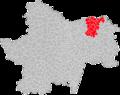 Localisation EPCI Saône Doubs Bresse en Saône-et-Loire, France.png