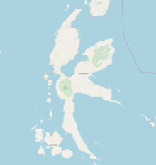 TTE is located in Halmahera