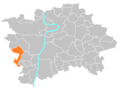 Location map municipal district Prague - Řeporyje.PNG