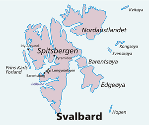 Svenskøya - Svenskøya in the north east