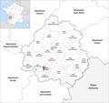 Locator map of Kanton Bergerac-1 2019.png