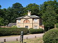 Lodge at southwest corner of Chillington estate - geograph.org.uk - 205380.jpg