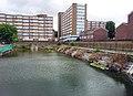 London, Woolwich Dockyard, disused Dock No 2.jpg