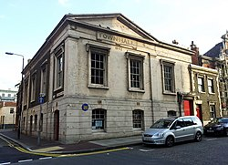 London-Woolwich, Calderwood St-Polytechnic St, Old Town Hall.jpg