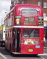 London General Routemaster bus RML2680 (SMK 680F) route 14, May 2005.jpg
