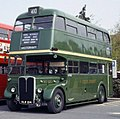 London Transport bus RT227 (HLW 214), 1991 Barking bus rally.jpg