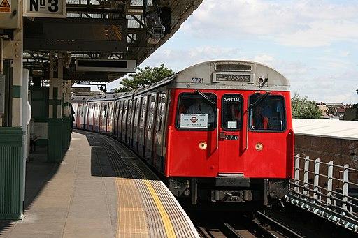 London Underground C69 Stock farewell tour at Putney Bridge