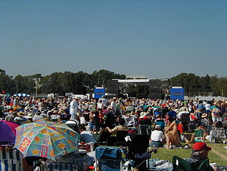 Long Beach Blues Festival - The former Festival Site at CSULB campus (2003)