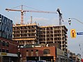 Looking east at the construction of the new Globe and Mail building, 2015 08 31 (2).JPG - panoramio.jpg