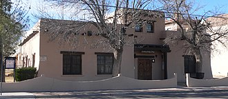 National Register of Historic Places listings in Hidalgo County, New Mexico - Image: Lordsburg Hidalgo Library from NE 1