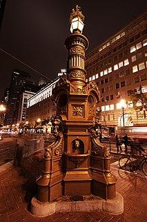 Lottas Fountain historical fountain in San Francisco