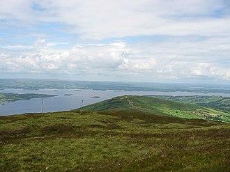Arra Mountains - Lough Derg from Arra Mountains