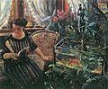 Lovis Corinth Dame am Goldfischbassin 1911.jpg