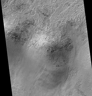 Lowell (Martian crater) - Image: Lowell Crater Rim