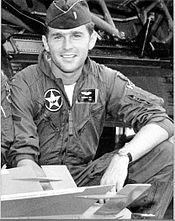Lt George W Bush - Texas ANG photo